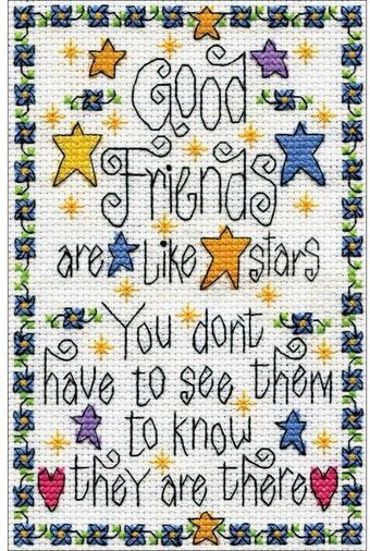 Good Friends - Cross Stitch Kit