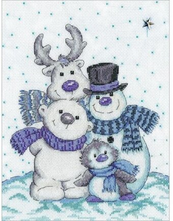 Snow Pals - Cross Stitch Kit