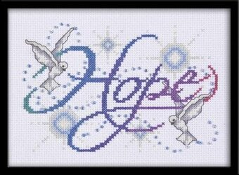 Hope - Cross Stitch Kit