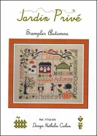 Sampler Automne - Cross Stitch Pattern