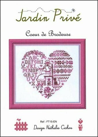 Coeur De Brodeuse - Cross Stitch Pattern