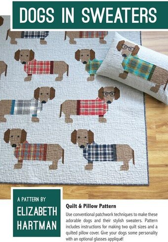 Dogs in Sweaters - Quilt Pattern