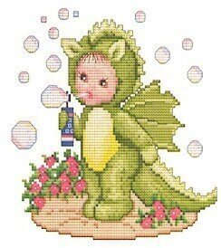 Dragon Baby - Cross Stitch Pattern
