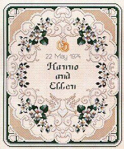Wedding Sampler - Cross Stitch Pattern