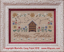 Honey Fields - Cross Stitch Pattern