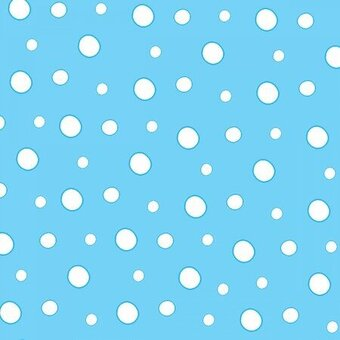 Turquoise Dots Flannel Fabric - Yardage