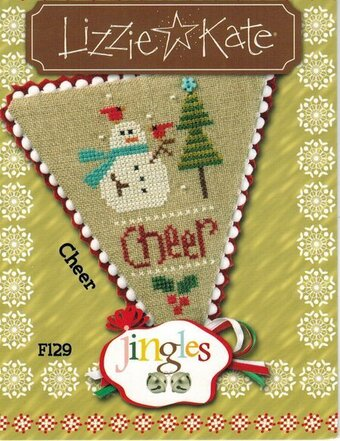 Jingles - Cheer - Cross Stitch Pattern