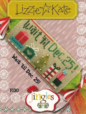 Jingles - Wait 'til Dec. 25! - Cross Stitch Pattern