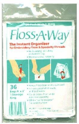 Floss-A-Way 36 Pack with 1 Storage Ring