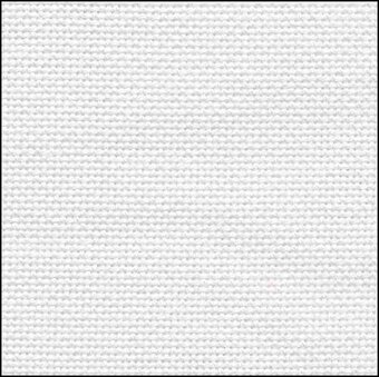 28 Count Glow in the Dark Evenweave Fabric 9x17