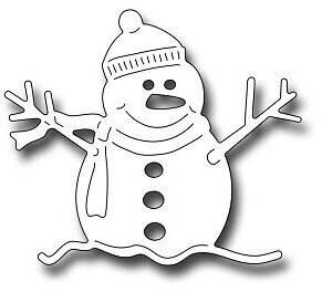 Frantic Stamper Precision Die - Oliver The Snowman