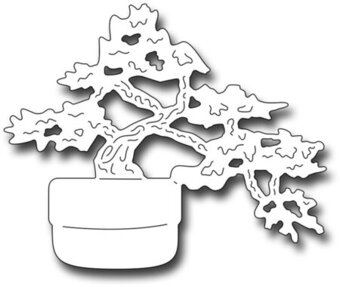 Frantic Stamper Precision Die - Bonsai Tree