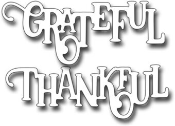 Frantic Stamper Dies - Elegant Thankful