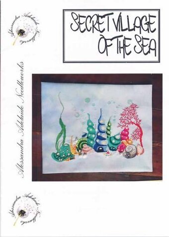 Secret Village of the Sea - Cross Stitch Pattern