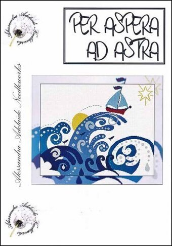 Per Aspera Ad Astra - Cross Stitch Pattern