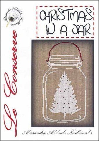 Christmas in a Jar - Cross Stitch Pattern