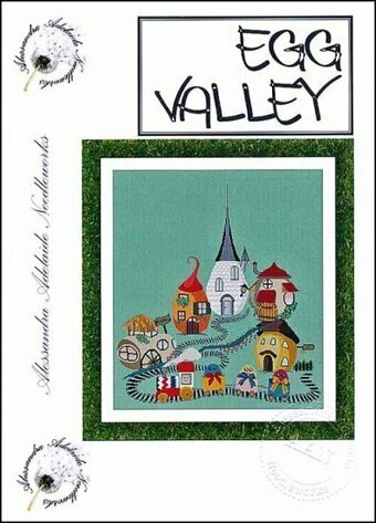 Egg Valley - Cross Stitch Pattern