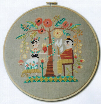 Frida & Diego - Cross Stitch Pattern