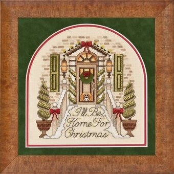 I'll Be Home For Christmas - Cross Stitch Pattern