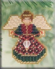 Joyful Angel - Beaded Cross Stitch Kit