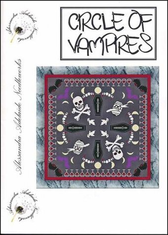 Circle of Vampires - Cross Stitch Pattern