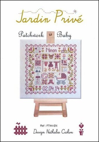Patchwork Baby - Cross Stitch Pattern