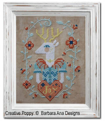 Deer Joy - Cross Stitch Pattern