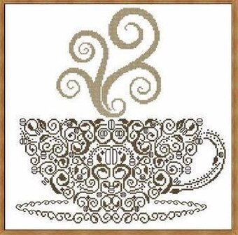 Coffee - Cross Stitch Pattern