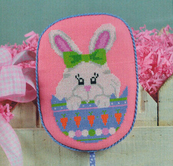 Peeking Bunny - Cross Stitch Pattern