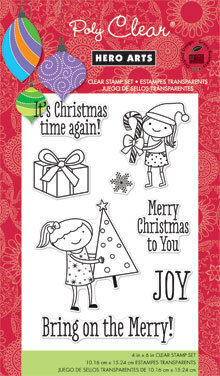 Bring on the Merry (Christmas) - Clear Stamp