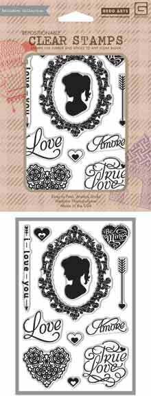 True Love - Clear Rubber Stamp