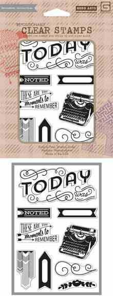 Capture Moments To Remember - Clear Stamp