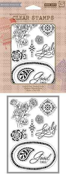 Spice Market Lovely - Clear Stamp