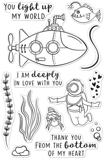 Deeply In Love - Clear Stamp