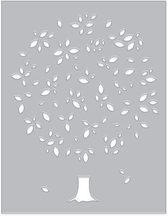 Tree and Leaf Confetti - Craft Die