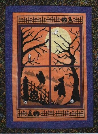 Halloween Silhouette - Scary Night 3 - Through the Window