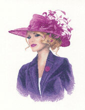 Sarah (John Clayton) - Cross Stitch Pattern