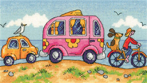 Are We There Yet?  - By the Sea - Cross Stitch Pattern