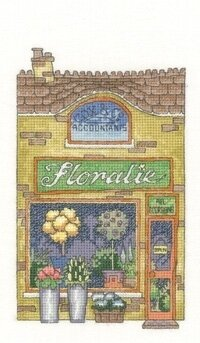 Floralie - High Street - Cross Stitch Pattern