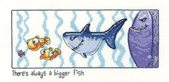 Always a Bigger Fish - Cross Stitch Pattern
