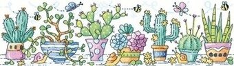 Cactus Garden - Karen Carter - Cross Stitch Pattern