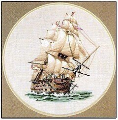 HMS Victory - Cross Stitch Pattern