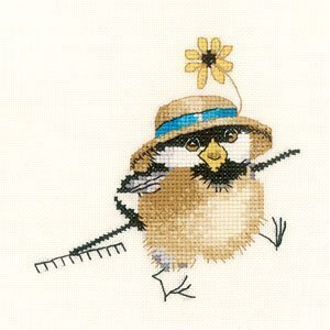 Gardener Chick - Cross Stitch Pattern