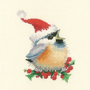 Christmas Chick - Cross Stitch Pattern