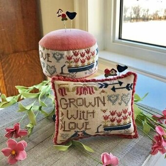 Grown With Love - Cross Stitch Pattern