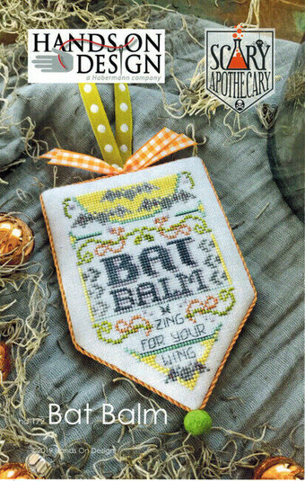 Bat Balm - Scary Apothecary Series - Cross Stitch Pattern