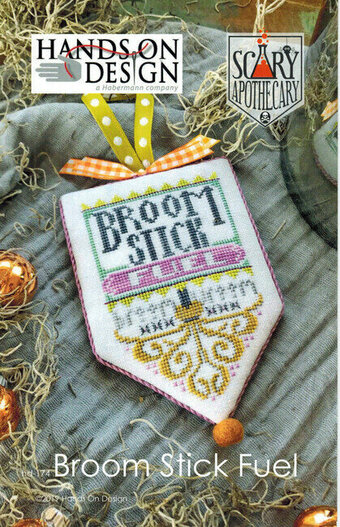 Broom Stitck Fuel - Scary Apothecary Series - Cross Stitch P