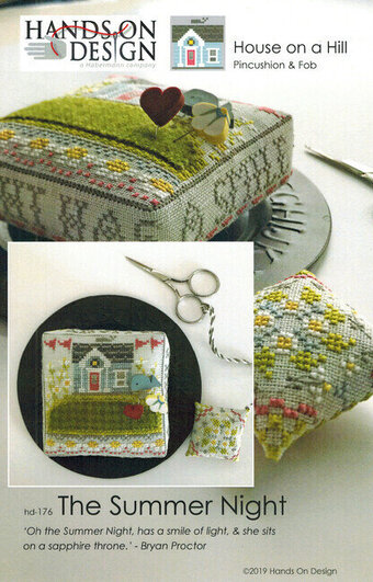 Summer Night, The - House on a Hill - Cross Stitch Pattern