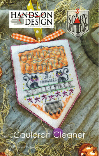 Cauldron Cleaner - Scary Apothecary - Cross Stitch Pattern