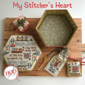 My Stitcher's Heart - Cross Stitch Pattern